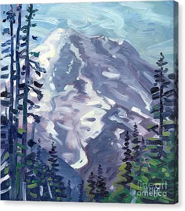 Mount Rainier From Sunrise Point Canvas Print