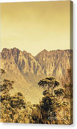 Mount Read In Western Tasmania Canvas Print by Jorgo Photography - Wall Art Gallery