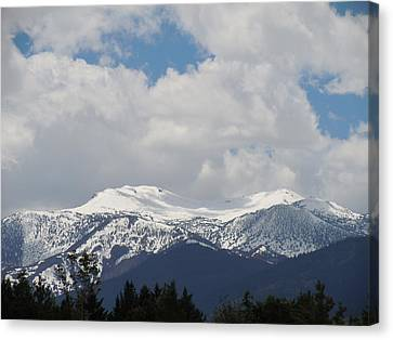 Mount Rose Reno Nevada Canvas Print by Dan Whittemore