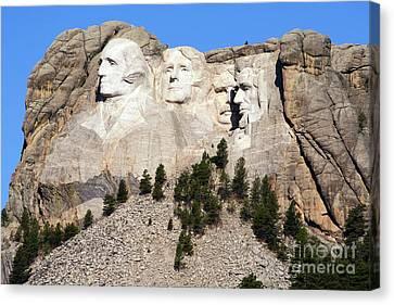 Mount Rushmore I Canvas Print by Teresa Zieba