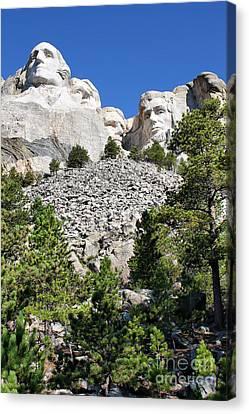 Mount Rushmore II Canvas Print by Teresa Zieba