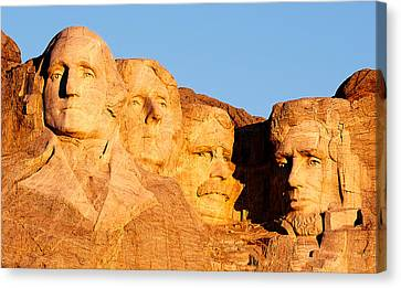 Mount Rushmore Canvas Print by Todd Klassy