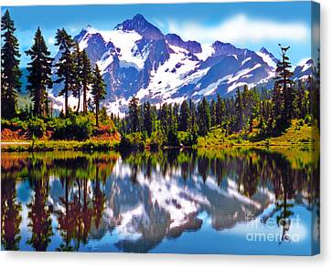 Mount Shuksan Washington Canvas Print