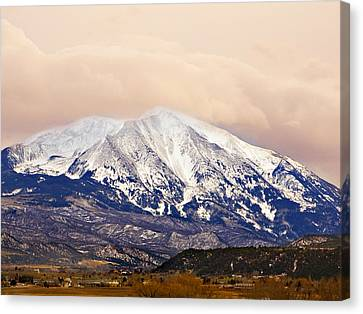 Mount Sopris Canvas Print by Marilyn Hunt