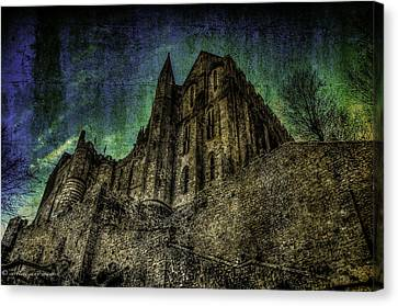 Canvas Print featuring the photograph Mount St Michael Unreal by Karo Evans