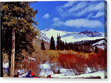 Mount St Vrain  Canvas Print