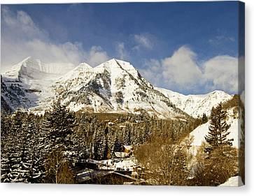 Mount Timpanogos Canvas Print by Scott Pellegrin