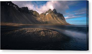Mount Vestrahorn Canvas Print by Tor-Ivar Naess