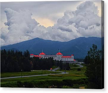 Canvas Print - Mount Washington Hotel by Raymond Salani III