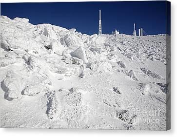 Mount Washington New Hampshire - Rime Ice Canvas Print by Erin Paul Donovan