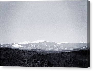 Mount Washington Canvas Print by Victory  Designs