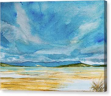 View Of Mount Wellington From South Bruny Island Canvas Print