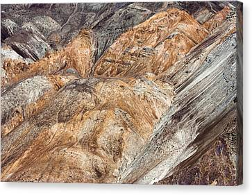 Mountain Abstract 7 Canvas Print by Hitendra SINKAR