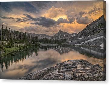 Pioneers Canvas Print - Mountain Beauty by Leland D Howard