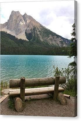 Mountain Calm Canvas Print by Catherine Alfidi