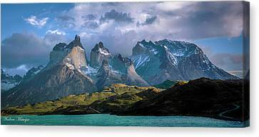 Mountain Dream Canvas Print by Andrew Matwijec