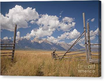 Mountain Gate Canvas Print
