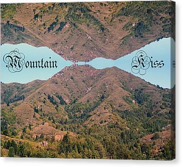 Mountain Kiss  Canvas Print by Ben Upham III