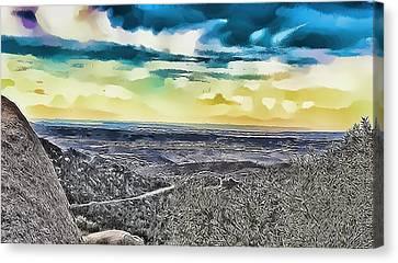 Mountain Landscape 7 Canvas Print