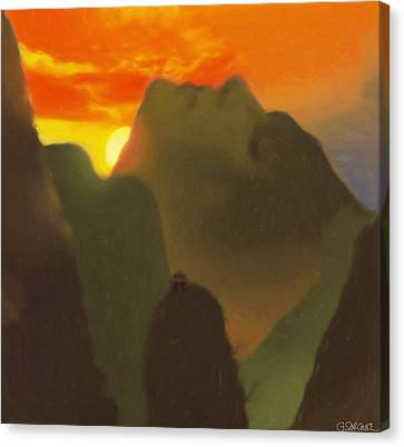 Mountain Magic Canvas Print