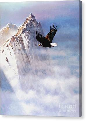 Mountain Majesty Canvas Print by Robert Foster