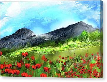Mountain Meadow 2 Canvas Print