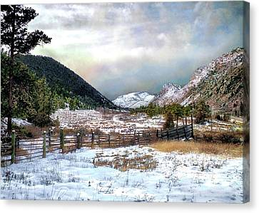 Mountain Meadow Canvas Print by Jim Hill