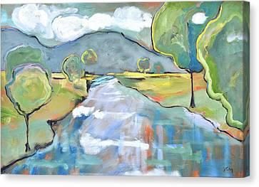 Mountain Meditation Canvas Print