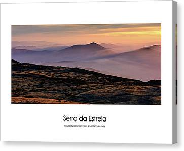 Canvas Print featuring the photograph Mountain Mist Poster by Marion McCristall