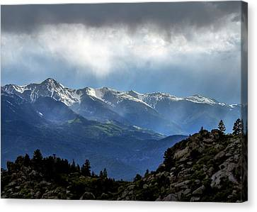 Mountain Moodiness Canvas Print