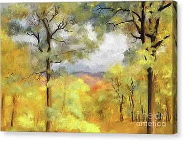 Mountain Morning Canvas Print by Lois Bryan