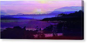 Mountain Retreat Canvas Print by Mike Breau