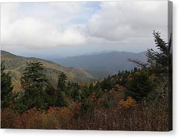Mountain Ridge View Canvas Print