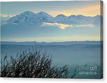 Mountain Scenery 14 Canvas Print by Jean Bernard Roussilhe