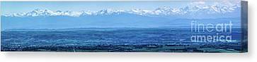 Mountain Scenery 16 Canvas Print by Jean Bernard Roussilhe