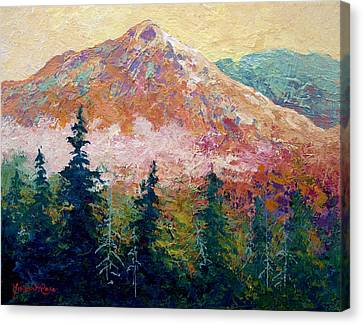 Mountain Sentinel Canvas Print by Marion Rose