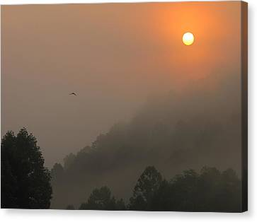 Canvas Print - Mountain Sunrise 2 by Shane Brumfield