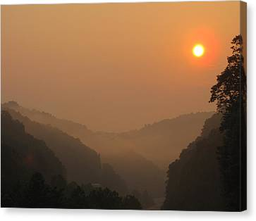 Canvas Print - Mountain Sunrise 3 by Shane Brumfield