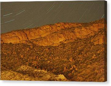 Mountain Trails Canvas Print by David S Reynolds