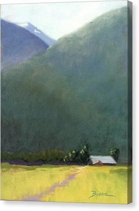 Mountain Valley Farm Canvas Print