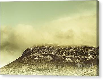 Mountains And Peaks Canvas Print by Jorgo Photography - Wall Art Gallery