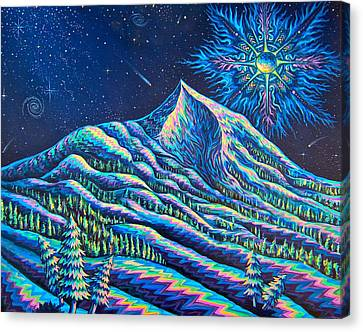 Mountains I Have Known And Loved Canvas Print