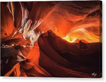 Canvas Print - Mountains In The Earth by Peter Coskun