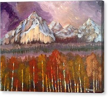 Mountains  Canvas Print by My Art
