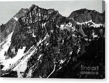 Mountains Canvas Print by Juls Adams