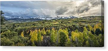 Mountains Of Ridgeway Canvas Print