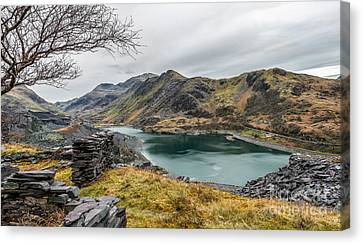 Mountains Of Snowdonia Canvas Print by Adrian Evans