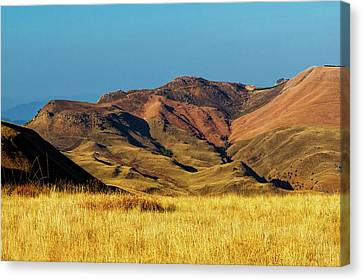 Mountains Of South Africa Canvas Print by Steve Buissine