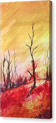 Mountainside #1 Canvas Print