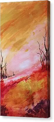 Mountainside #2 Canvas Print